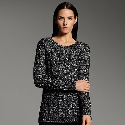 Narciso Rodriguez for DesigNation Cable-Knit Sweater $32
